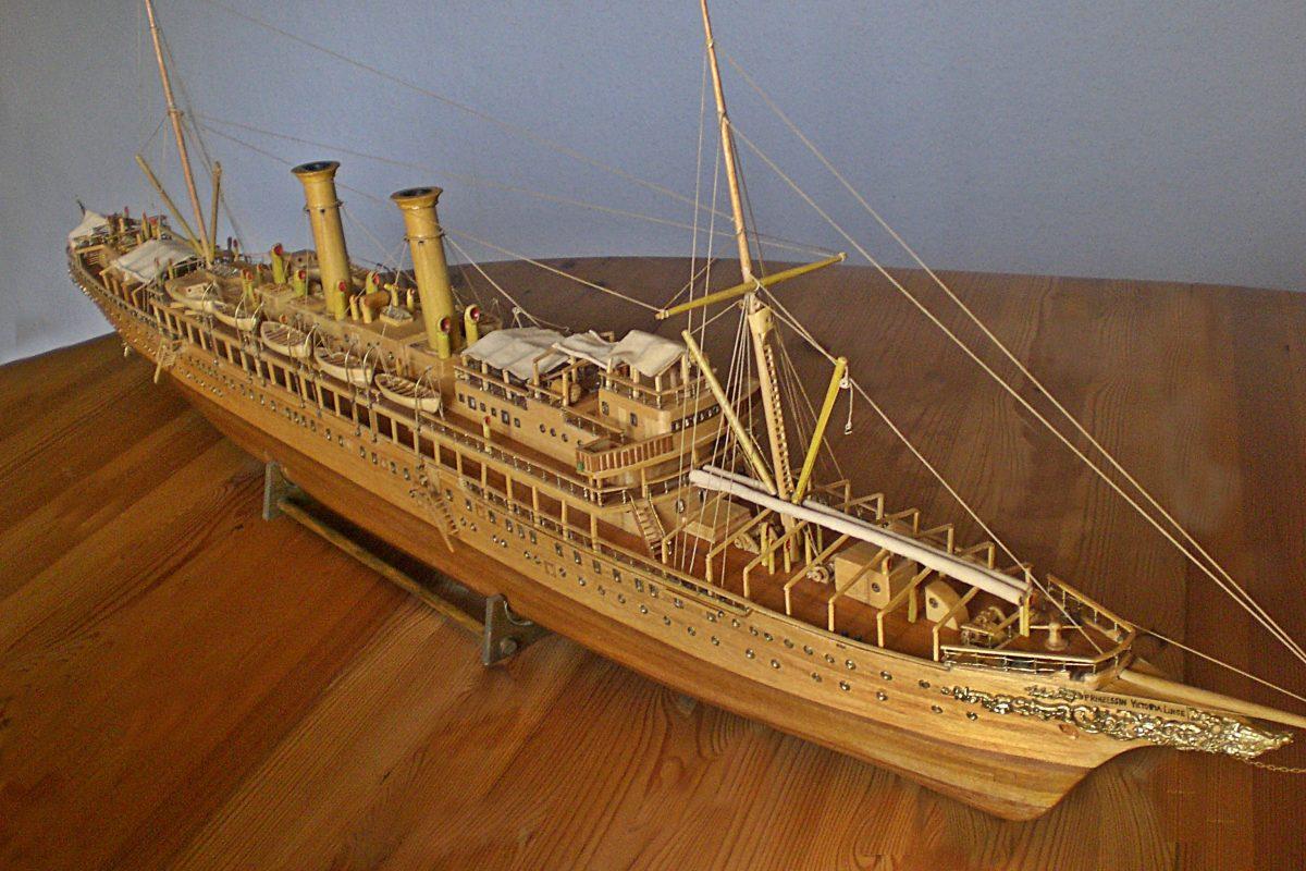 Prinzessin Victoria Luise 1901 -Luxus Dampfjacht